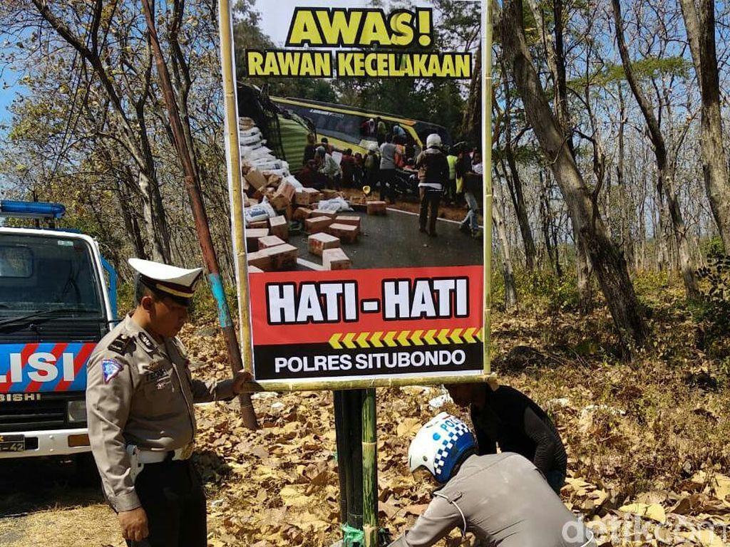 Pascakecelakaan Beruntun di Hutan Baluran, Polisi Sebar Imbauan