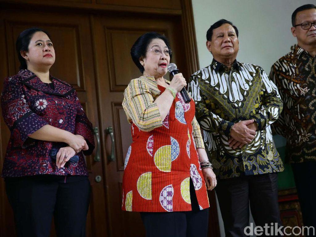 Kata PDIP soal Kehadiran BG di Pertemuan Mega-Prabowo