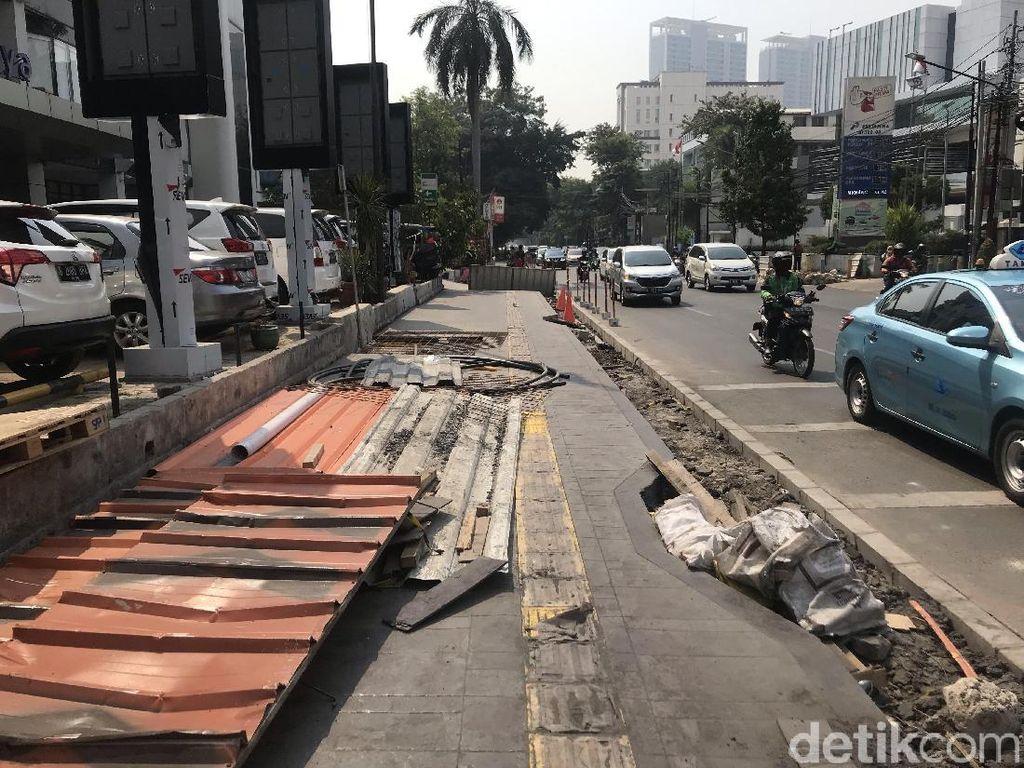 Ada Perubahan Anggaran, Tak Ada Pelebaran Trotoar di Jakarta Tahun 2020