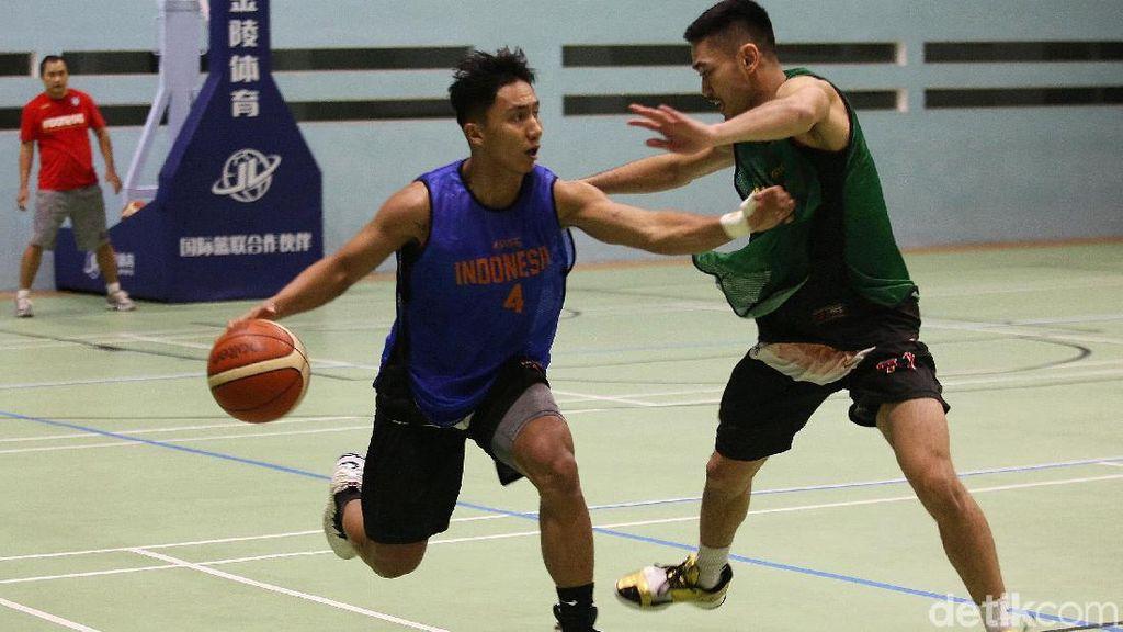 Melihat Latihan Timnas Basket Jelang SEA Games 2019