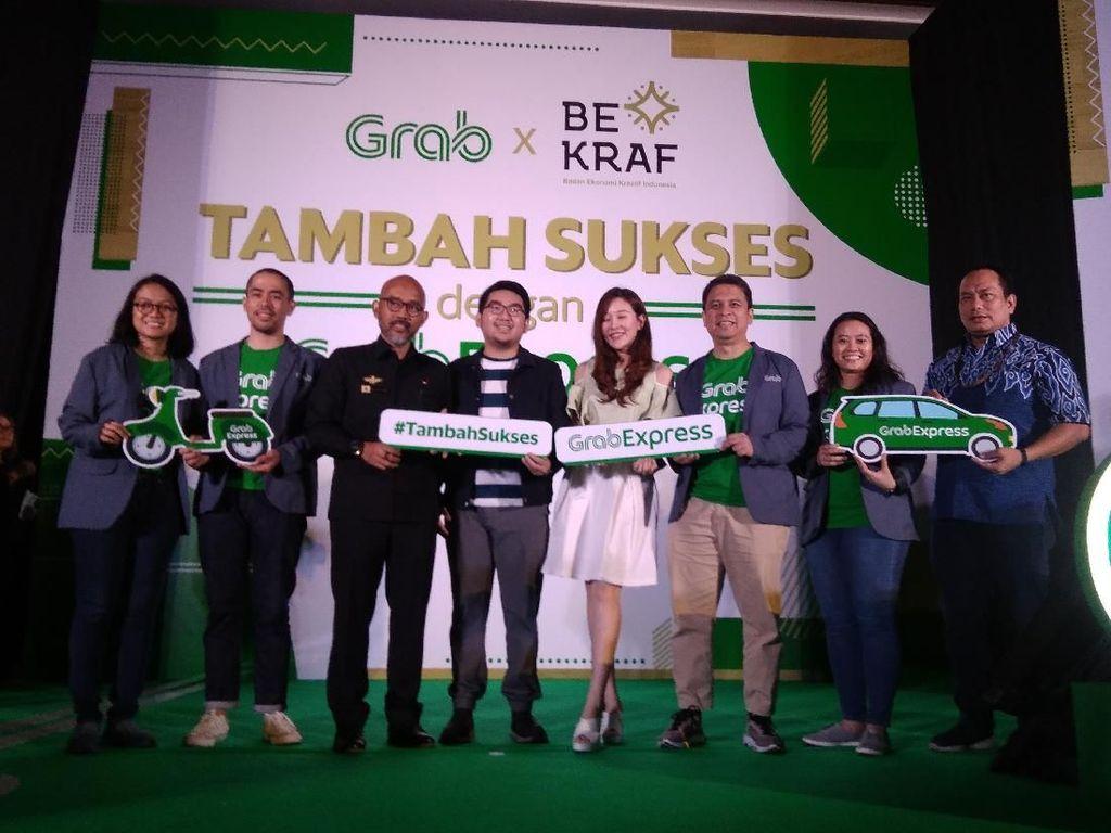 GrabExpress & Bekraf Latih 400 Wirausahawan Mikro