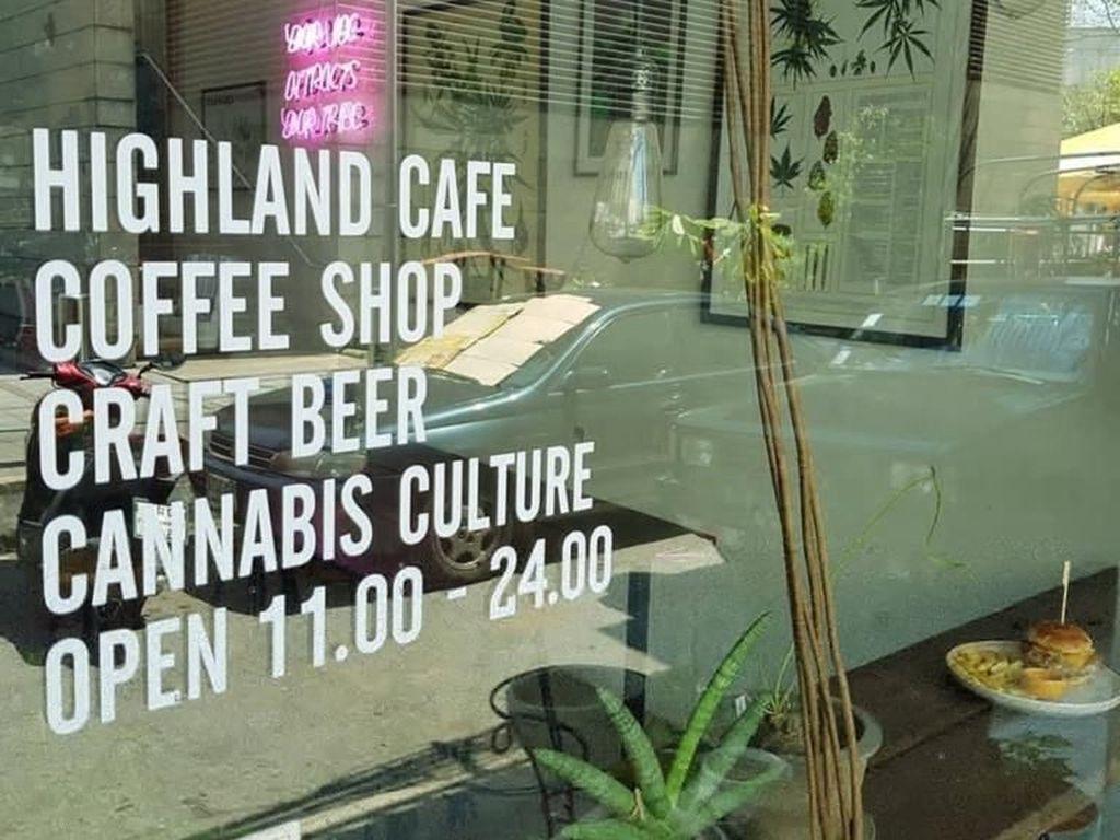 Ini Dia Kafe Bertema Ganja Pertama di Thailand