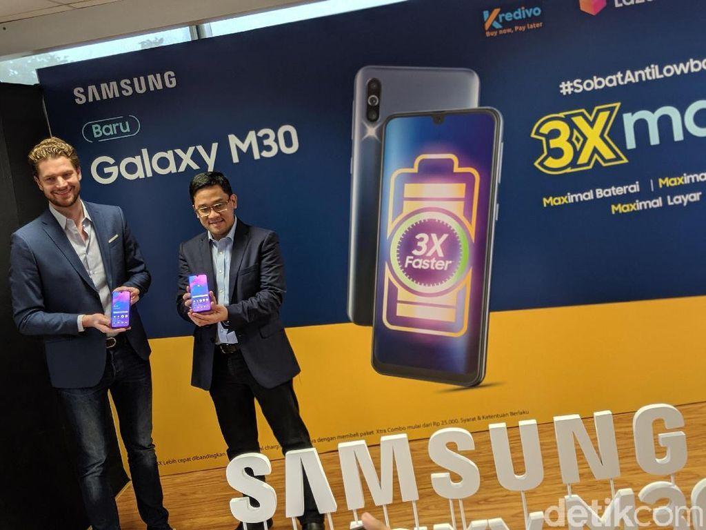 Galaxy M30 Masuk Indonesia, Ini Spek dan Harganya