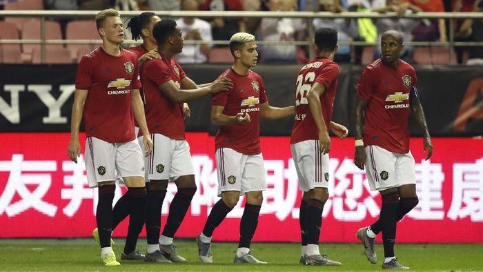 Manchester United menang 2-1 atas Tottenham Hotspur di ajang International Champions Cup 2019. (Foto: Fred Lee/Getty Images)