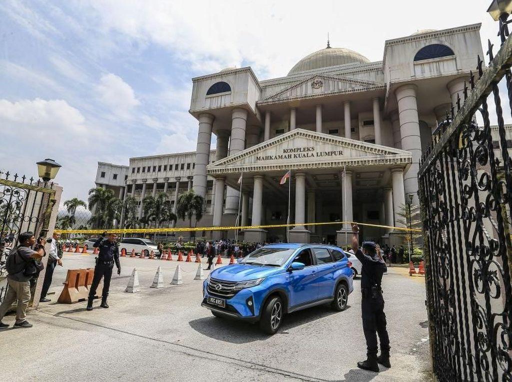 Pengadilan Kuala Lumpur Diancam Bom, Sidang Kasus Najib Razak Ditunda