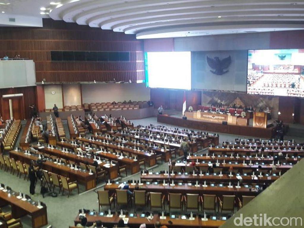 Paripurna Pengesahan Amnesti Baiq Nuril, 277 Anggota DPR Absen