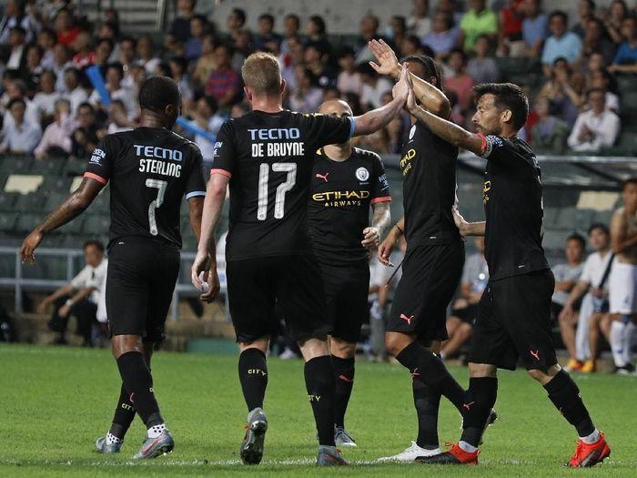 Manchester City punya skuat bernilai paling tinggi di Liga Inggris (AP Photo/Vincent Yu)