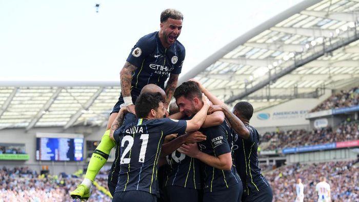 Manchester City terus meningkat, perlu memenangi Liga Champions. (Foto: Mike Hewitt / Getty Images)