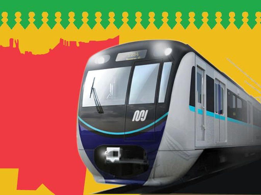 Di Bawah Tanah, Jalur MRT Fase II Dibangun Bertingkat