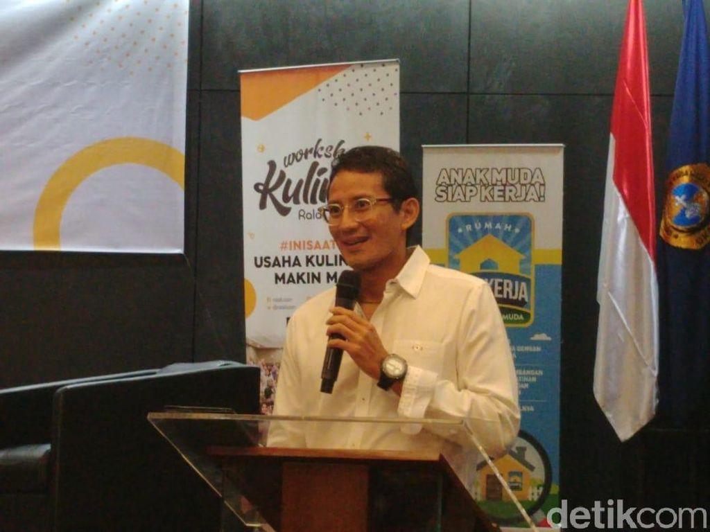 Jakarta Masih Belum Punya Wagub, Sandi: Pasti Berat buat Pak Anies