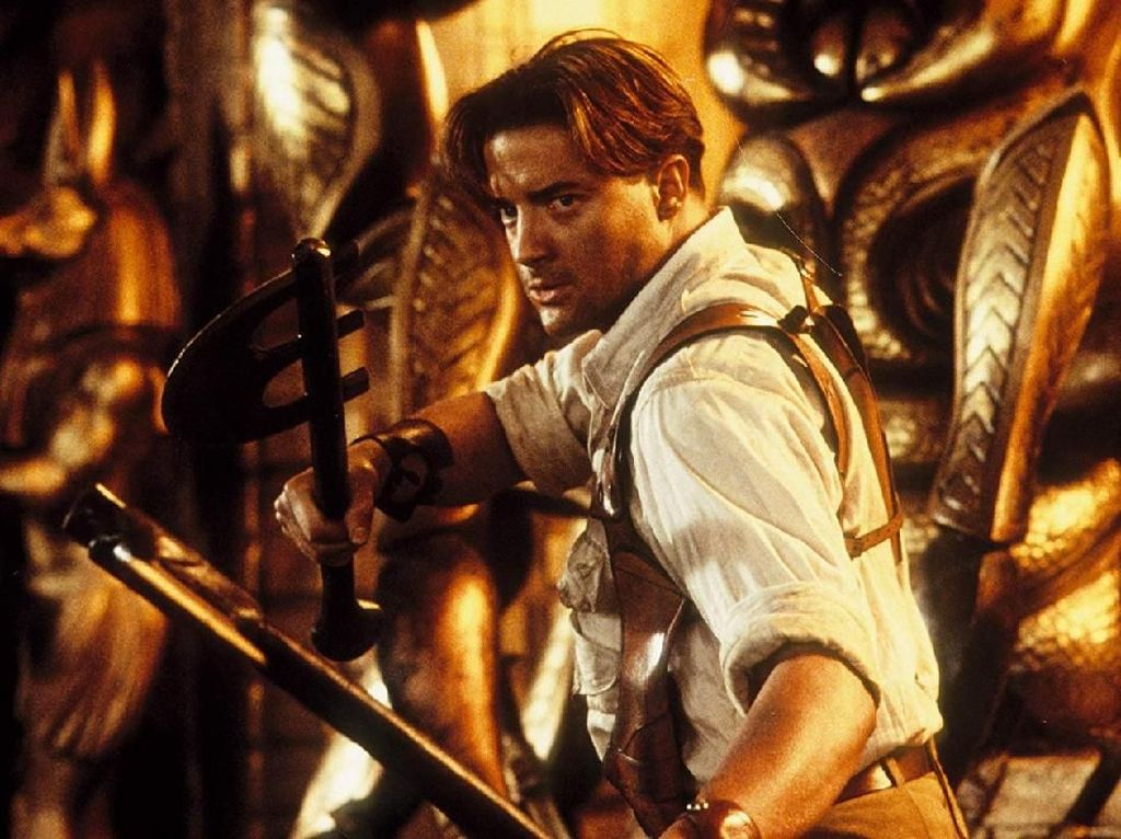 Ngeri! Aktor Brendan Fraser Pernah Bertaruh Nyawa untuk The Mummy