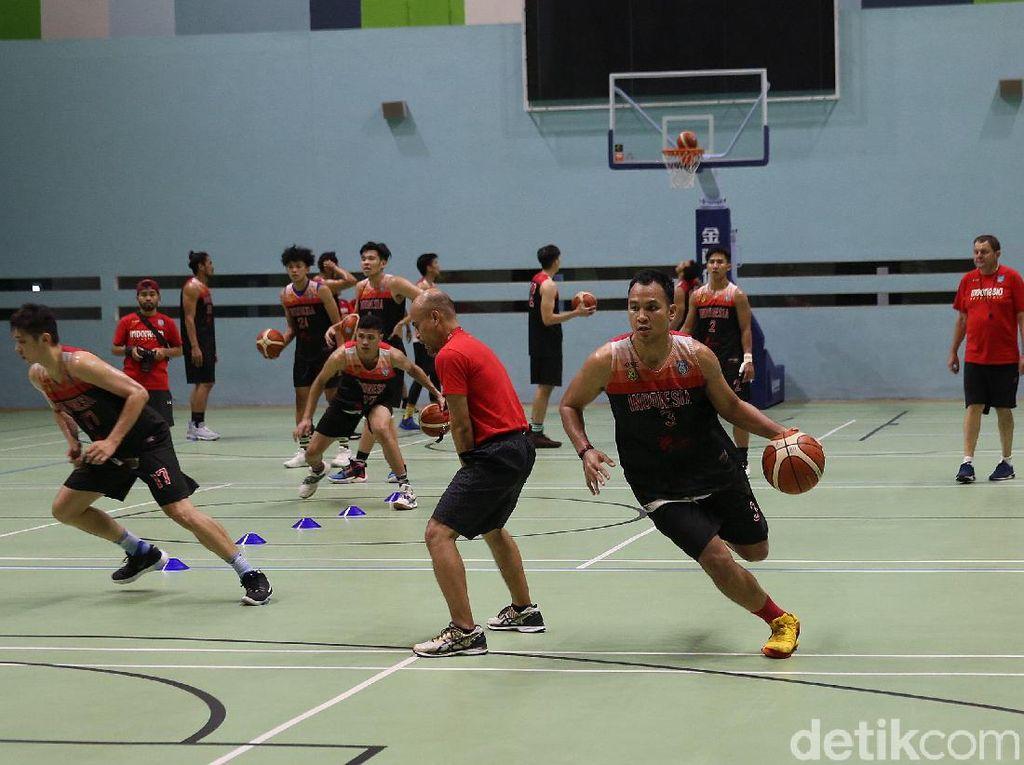 Gelar Latihan Perdana bersama Timnas Basket, Toroman Asah Defense