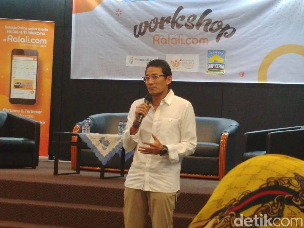 Sandiaga Dukung Jokowi Angkat Menteri dari Milenial