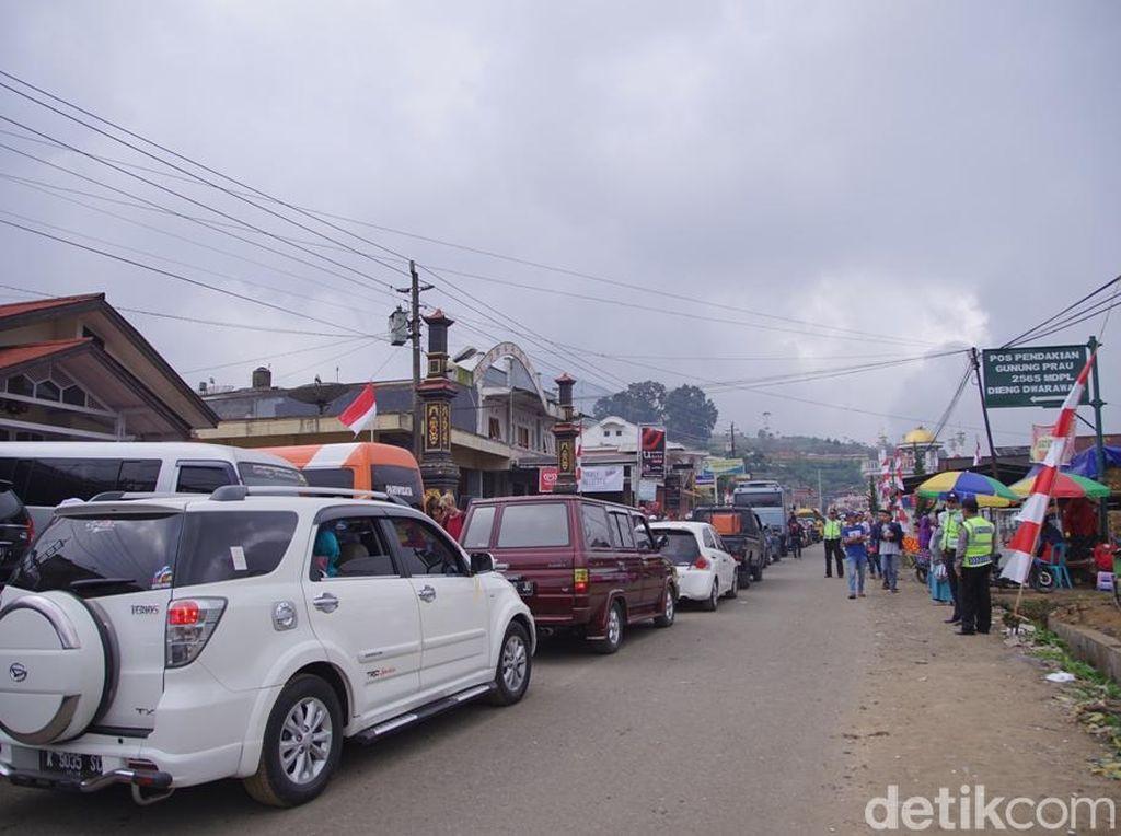 Pemilik Homestay di Dieng Diminta Sediakan Lahan Parkir Saat DCF