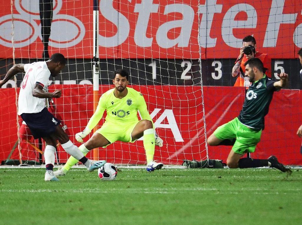 Hasil Uji Coba: Liverpool Diimbangi Sporting 2-2