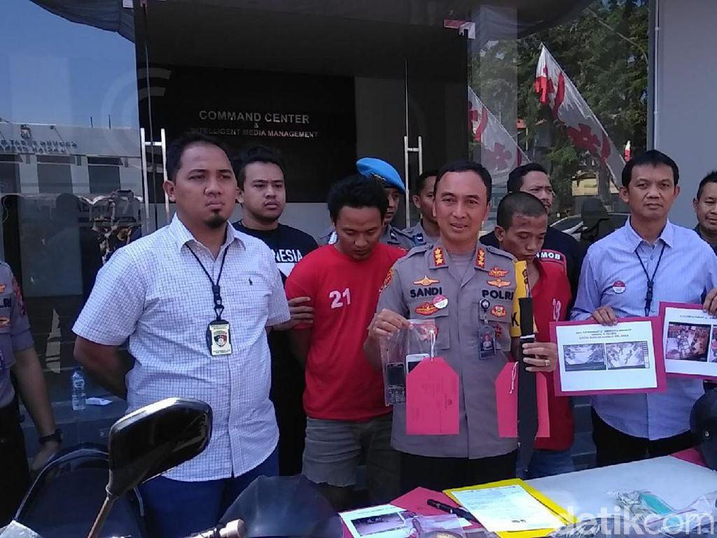 Dua Perampok yang Satroni Minimarket di Surabaya Ditembak Kakinya