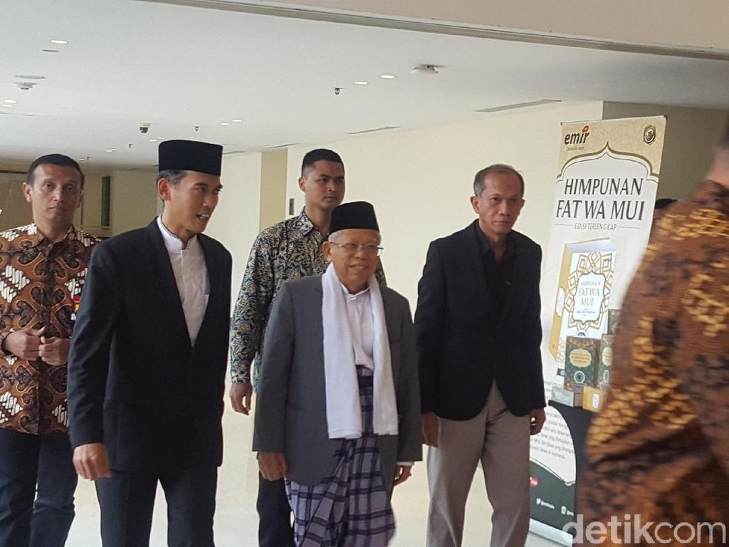 Maruf Amin Hadiri Peluncuran Buku Himpunan Fatwa MUI