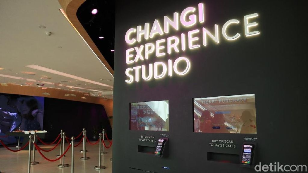 Makin Nyaman Transit di Bandara Changi dengan Fasilitas Interaktif Ini