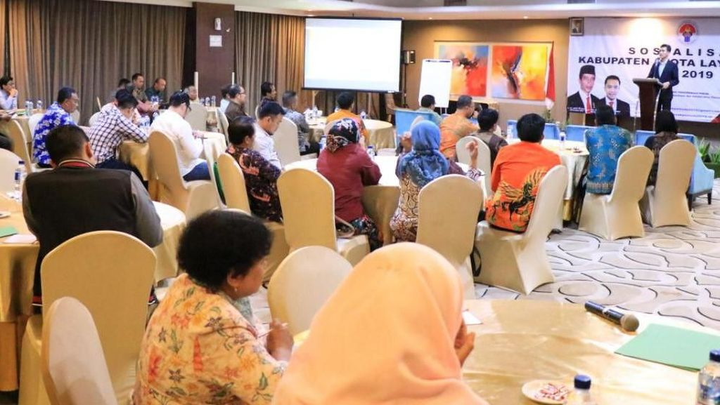 Suasana Sosialisasi Kabupaten Layak Pemuda 2019