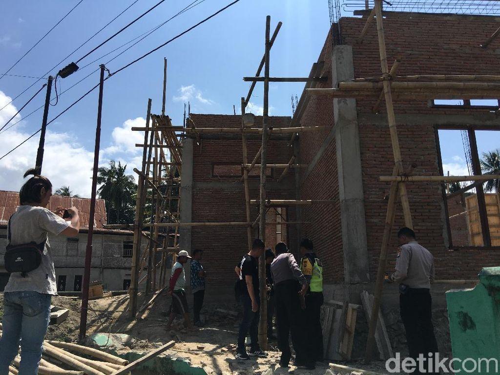 Tukang Bangunan di Polman Tewas Kesetrum Listrik