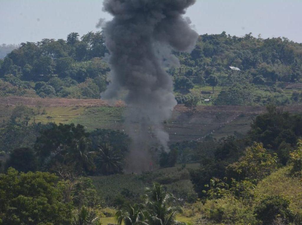 Ribuan Amunisi dan Ranjau Darat Rusak Dihancurkan Kodam Hasanuddin