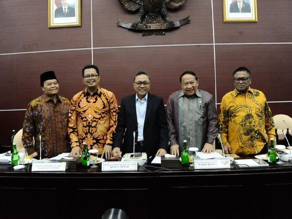 Jelang Akhir Jabatan, MPR Siapkan Pokok-Pokok Amandemen Terbatas