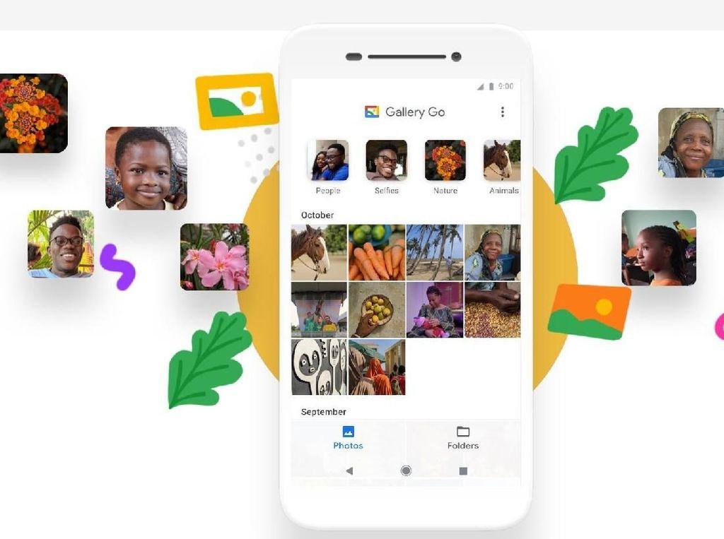 Versi Offline Google Photos Dirilis, Namanya Gallery Go