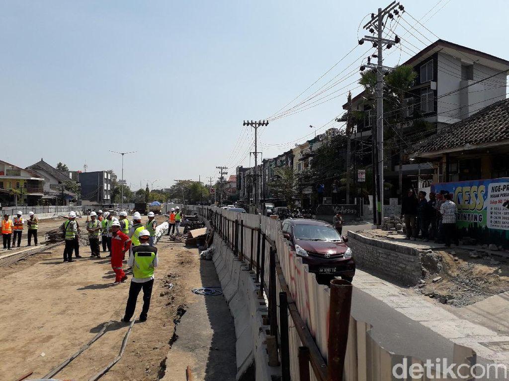 Sidak Underpass Kentungan Amblas, DPRD DIY: Rekayasa Lalin Harus Tegas!