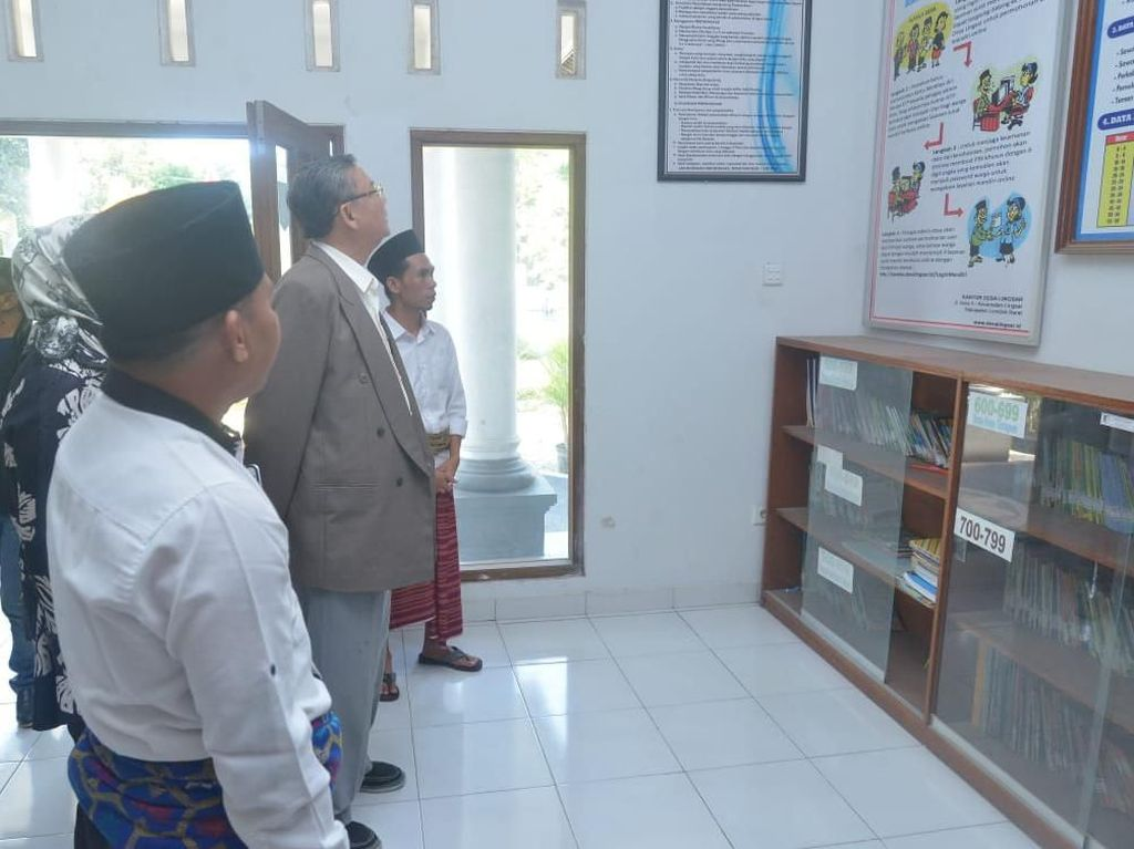 Desa di Lombok Barat Ini Terapkan Pembuatan Surat Online