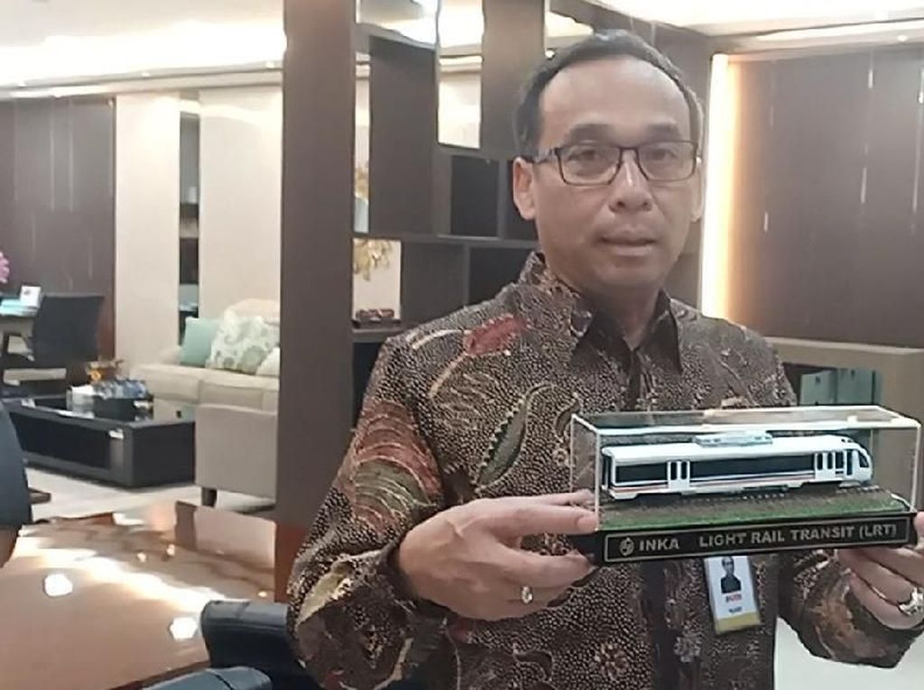 Setahun LRT Sumsel Beroperasi, INKA: Nggak Ada Mogok Lagi