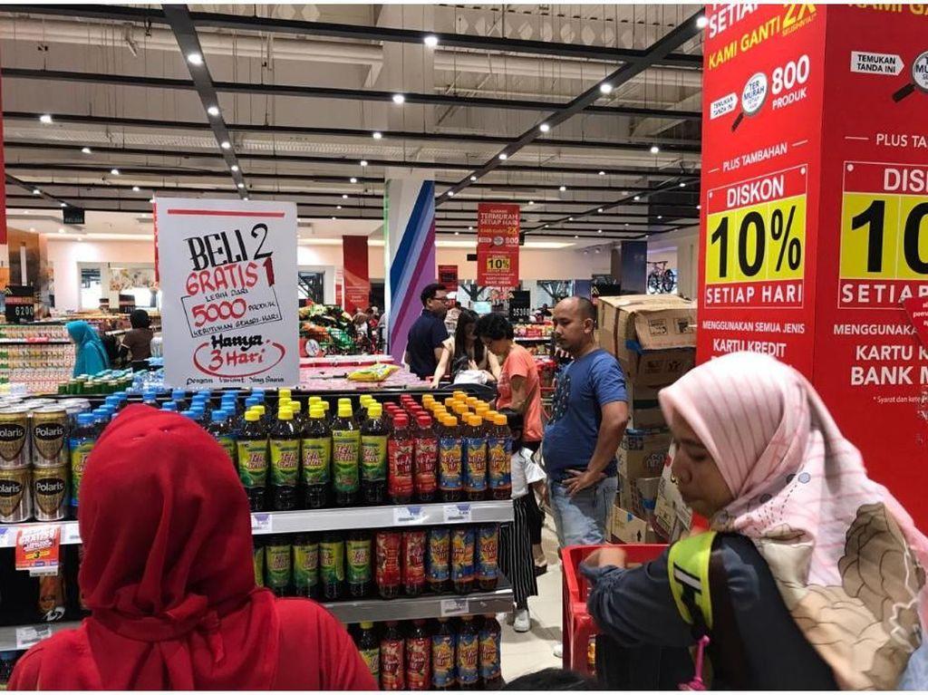 Mau Hemat Belanja Bulanan? Cuma Di Transmart Carrefour Tempatnya