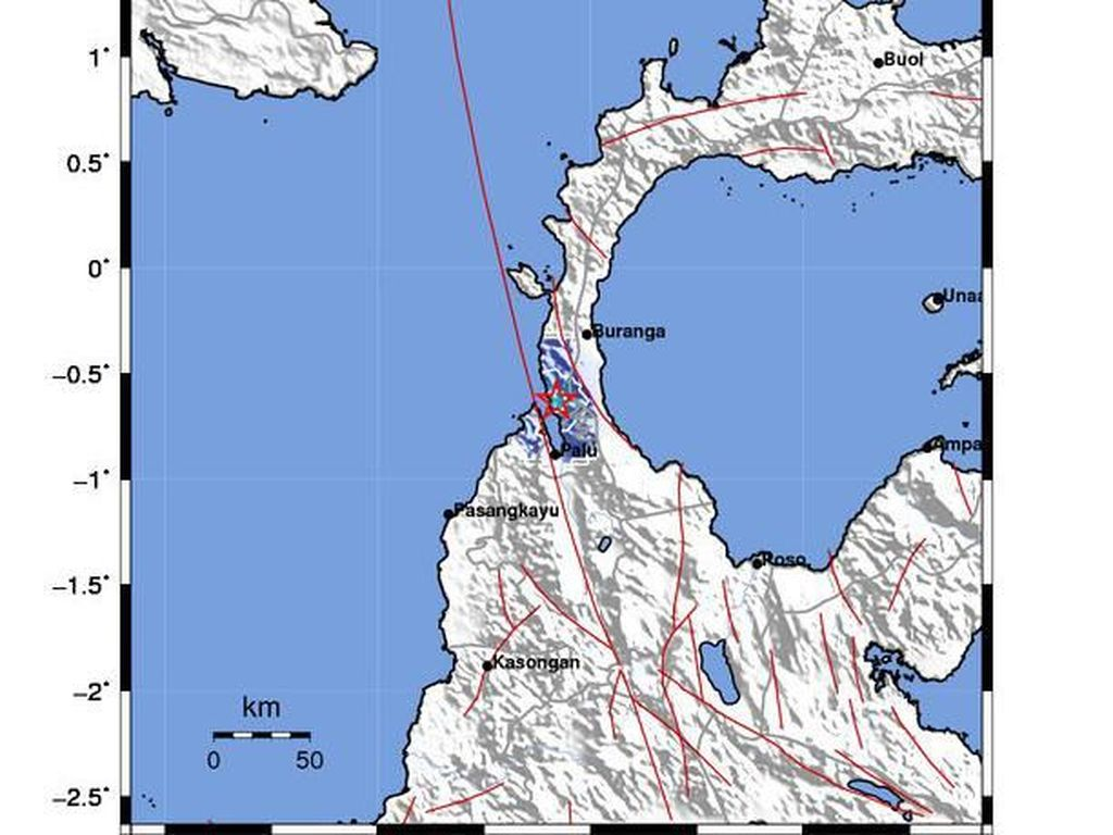 Gempa M 3,7 Guncang Donggala