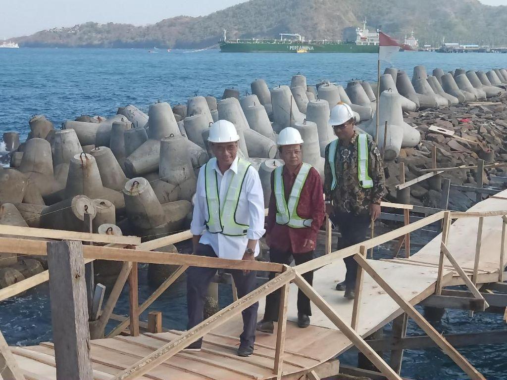 Cek Pelabuhan Yacht di Bali, Menhub: Standar Internasional