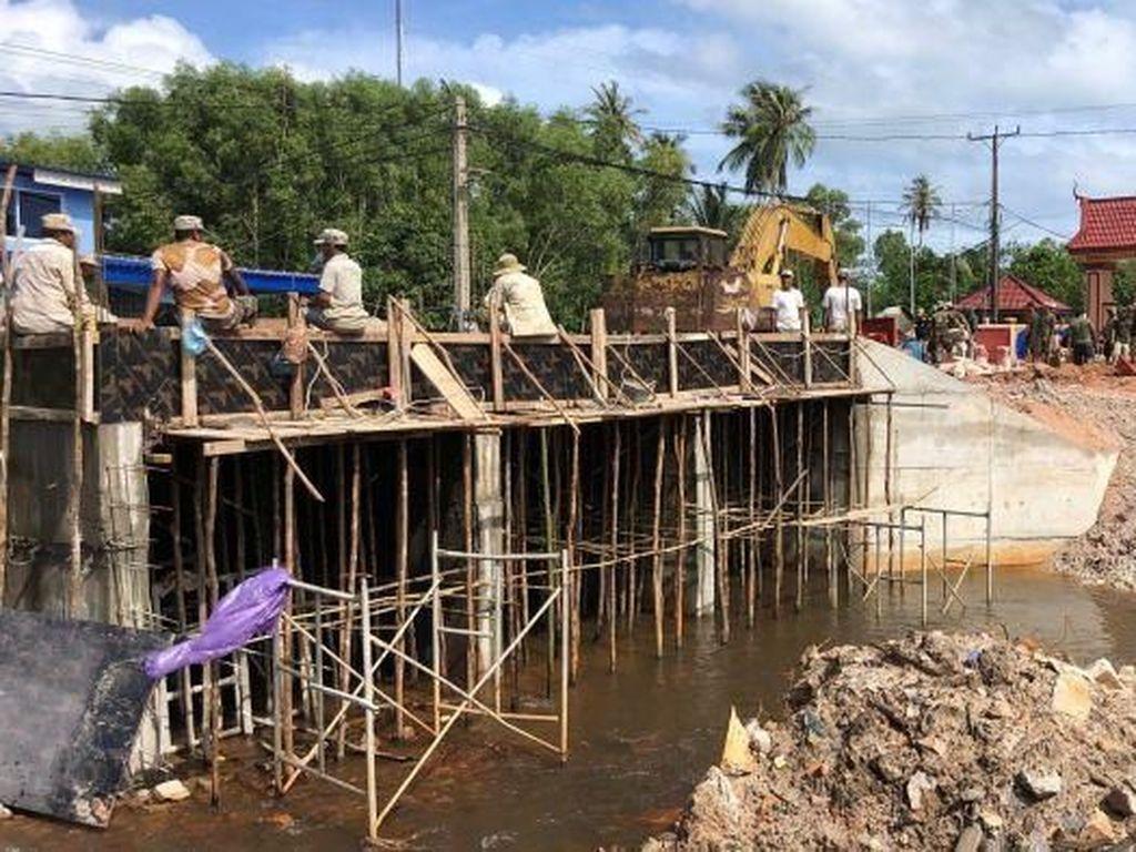 China Dicurigai Membangun Pangkalan AL di Kamboja