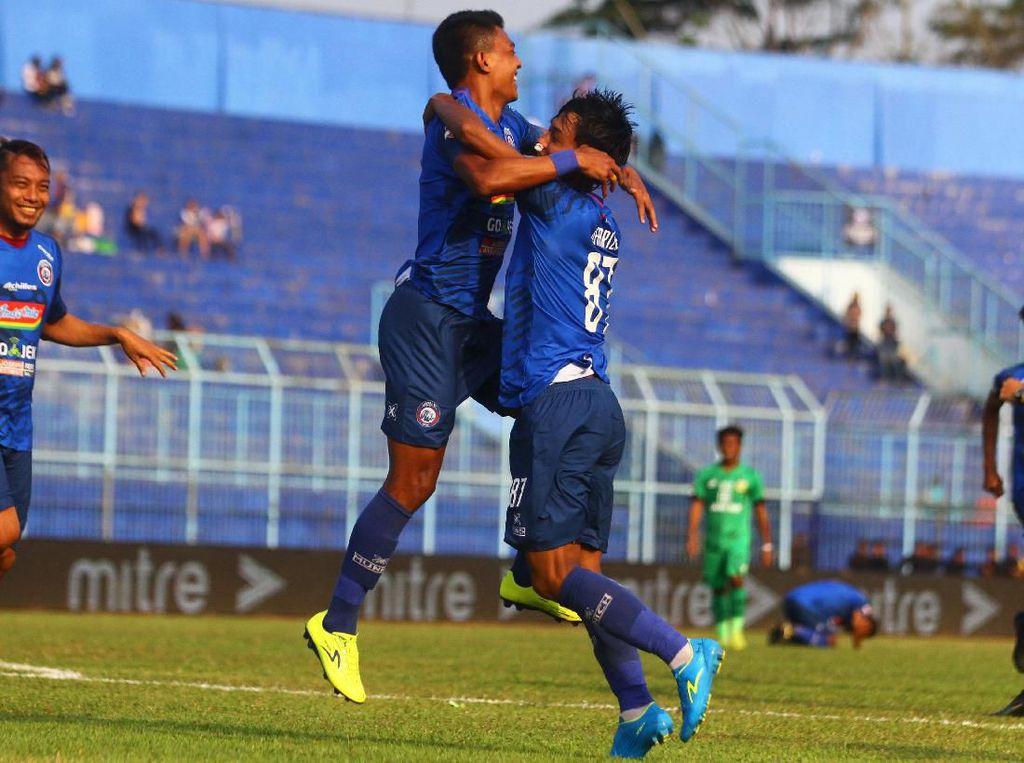 Hasil Arema Vs Bhayangkara FC: Hujan Lima Gol, Singo Edan Menang 3-2