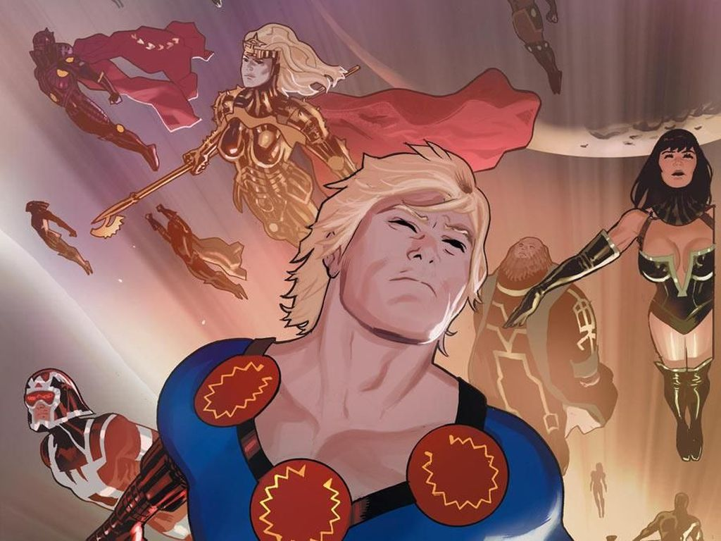 Mengenal The Eternals, Mitos Manusia Abadi di Marvel
