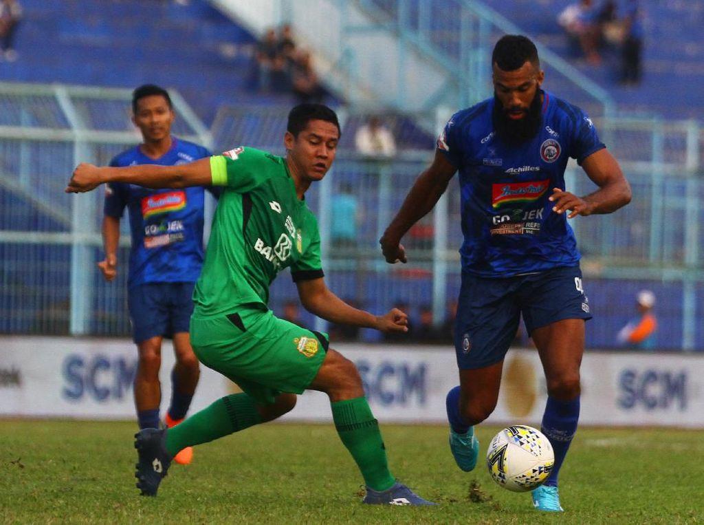 Arema Lengah, Bhayangkara FC pun Bisa Bikin Dua Gol