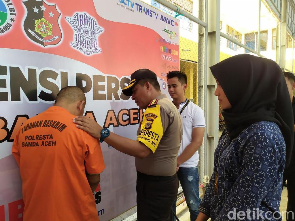 Duh, Pasutri di Aceh Kompak Nyuri HP di 12 Lokasi untuk Main Judi