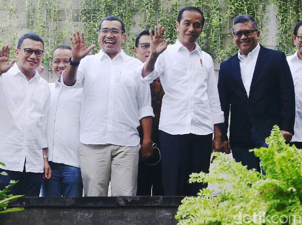 TKN Jokowi-Maruf Resmi Bubar
