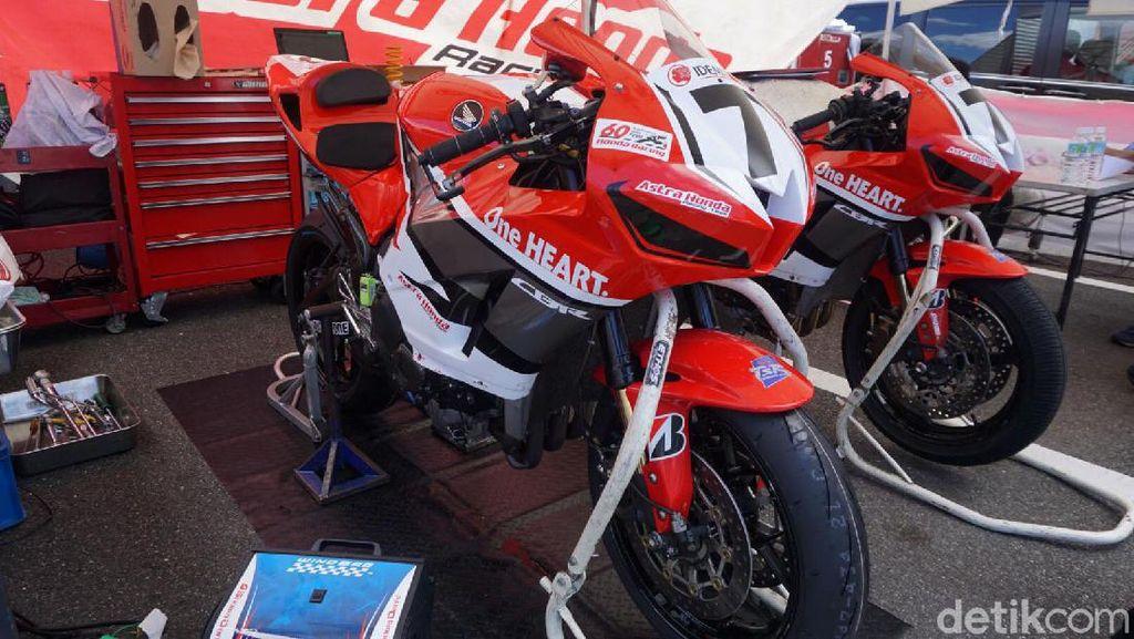 Intip Paddock Astra Honda Racing Team