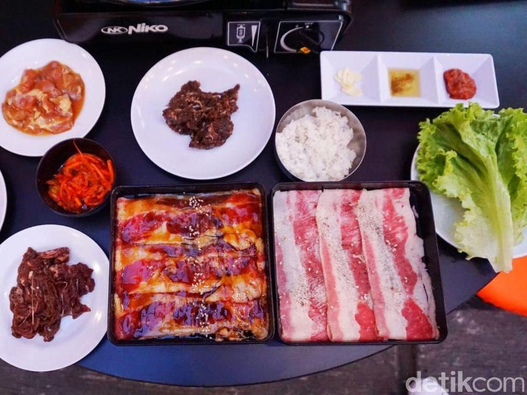 Modal Rp 99 Ribu, Bisa Makan Daging Panggang Korea Sampai Begah