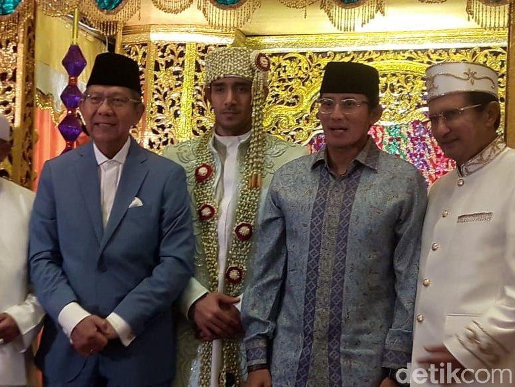 Sandiaga Uno Jadi Saksi Pernikahan Tania Nadira eks Tommy Kurniawan