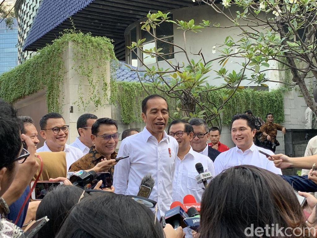 Jokowi Ungkap Kriteria Calon Menteri: Eksekutor, Berani, Berintegritas