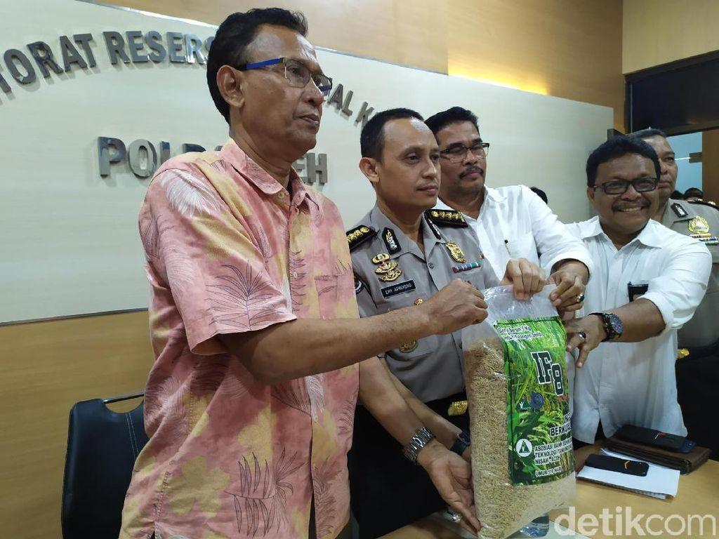 Polisi Tangguhkan Penahanan Kades Munirwan yang Jual Bibit Tanpa Izin