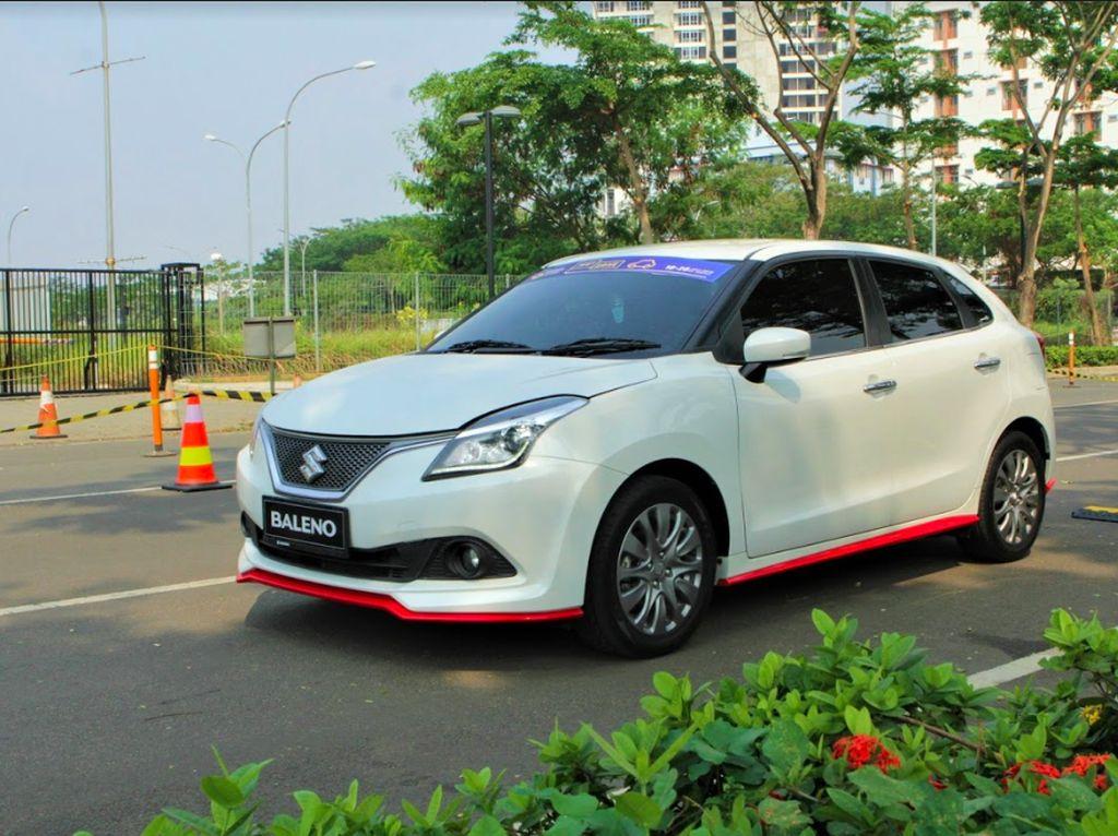 Pengunjung GIIAS Serbu Test Drive Suzuki