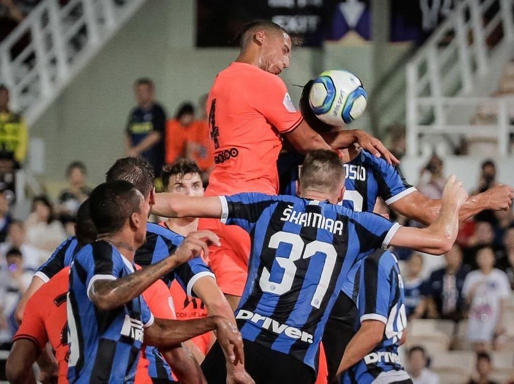 Laga Uji Coba: Inter Milan Kalahkan PSG Lewat Adu Penalti