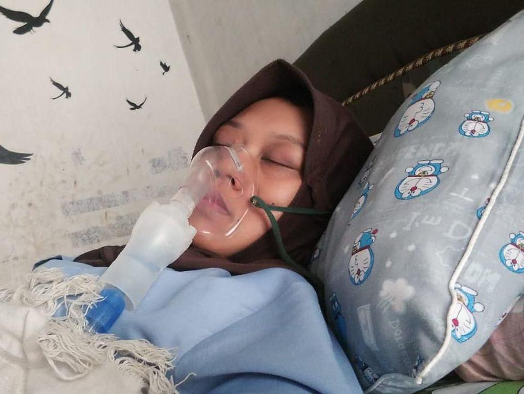 Perjuangan Mahrurin, Tetap Narik Ojol Meski Digerogoti Kanker Payudara