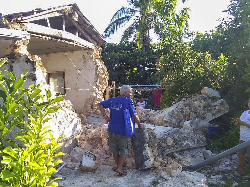 Korban Tewas Gempa M 6,6 Filipina Bertambah Jadi 6 Orang