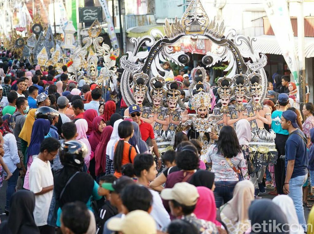 Spektakulernya BEC The Kingdom of Blambangan Pukau Ribuan Penonton