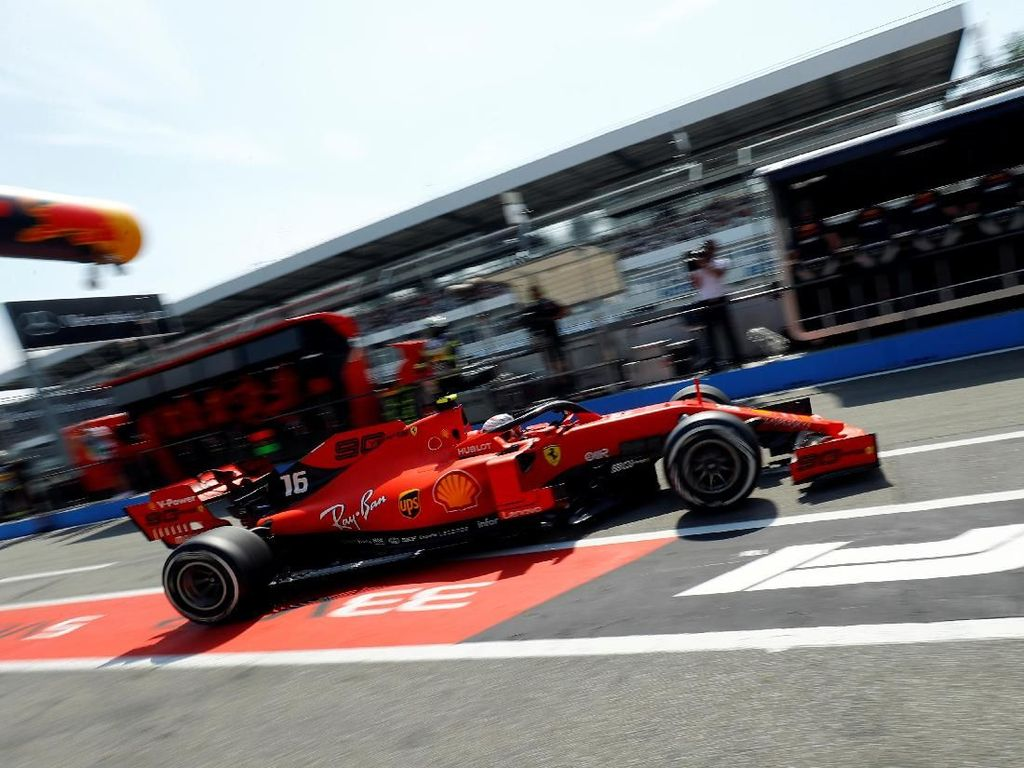 Ferrari Sapu Bersih Latihan Bebas GP Jerman